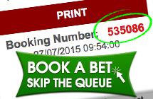 book a bet